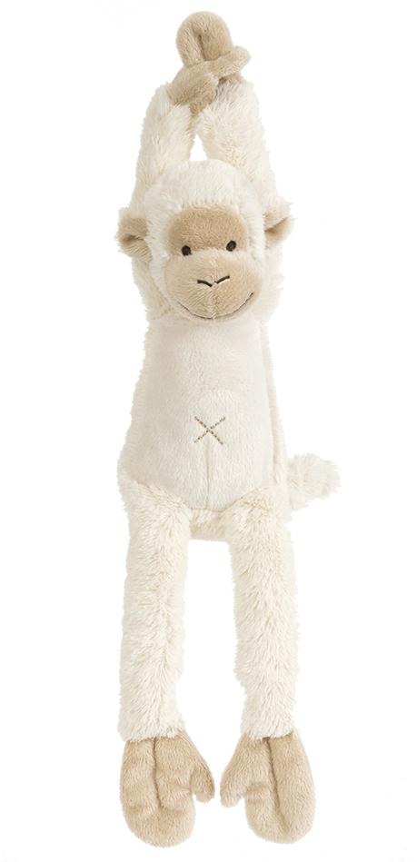 Happy Horse - hudební opička Mickey smetanová Velikost: 40 cm