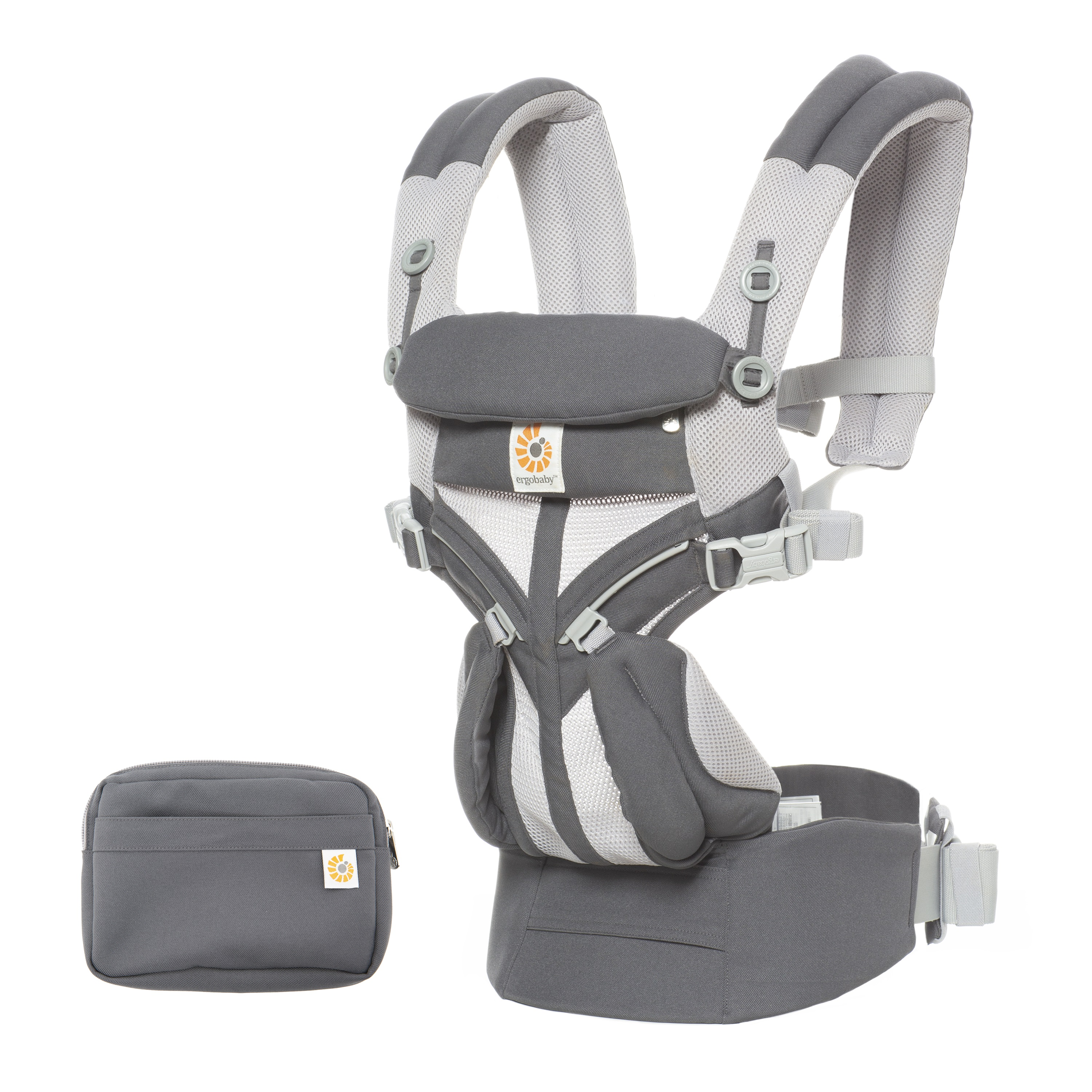 ERGOBABY | OMNI 360 COOL AIR MESH - CARBON GREY