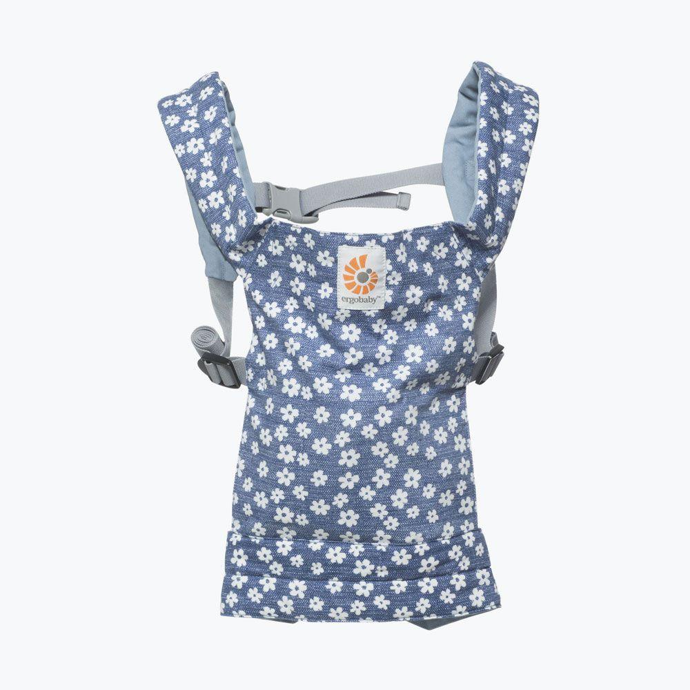 ERGOBABY | Nosítko pro panenky - BLUE DAISIES