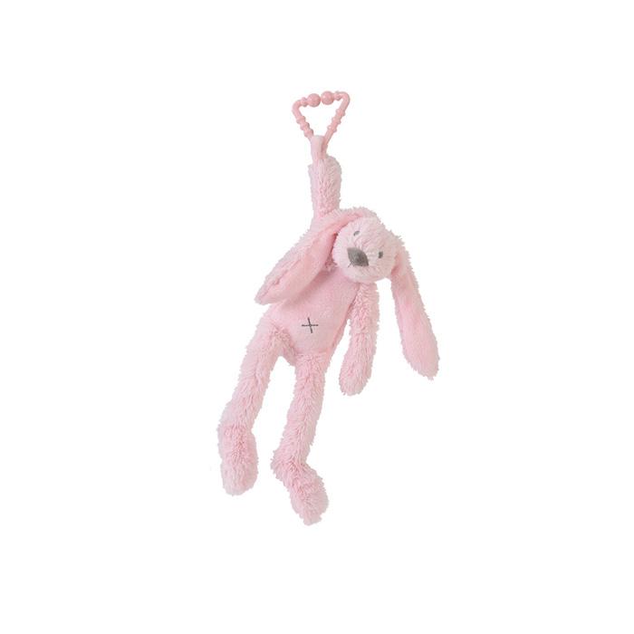 Happy Horse   Králíček Richie závěsný  růžový Velikost: 27 cm