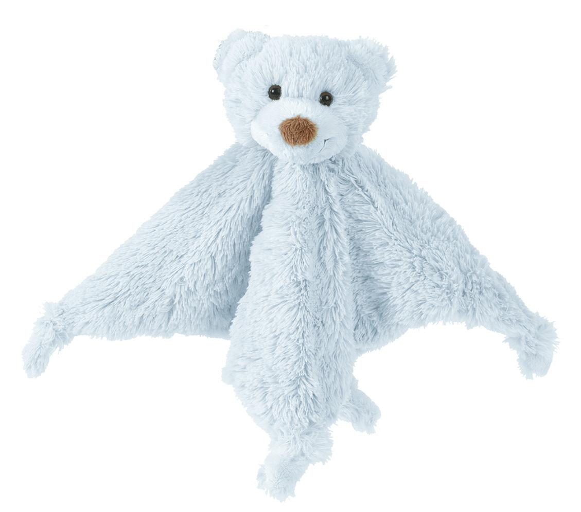 Happy Horse | méďa Boogy přítulka s chrastítkem  modrá Velikost: 25 cm