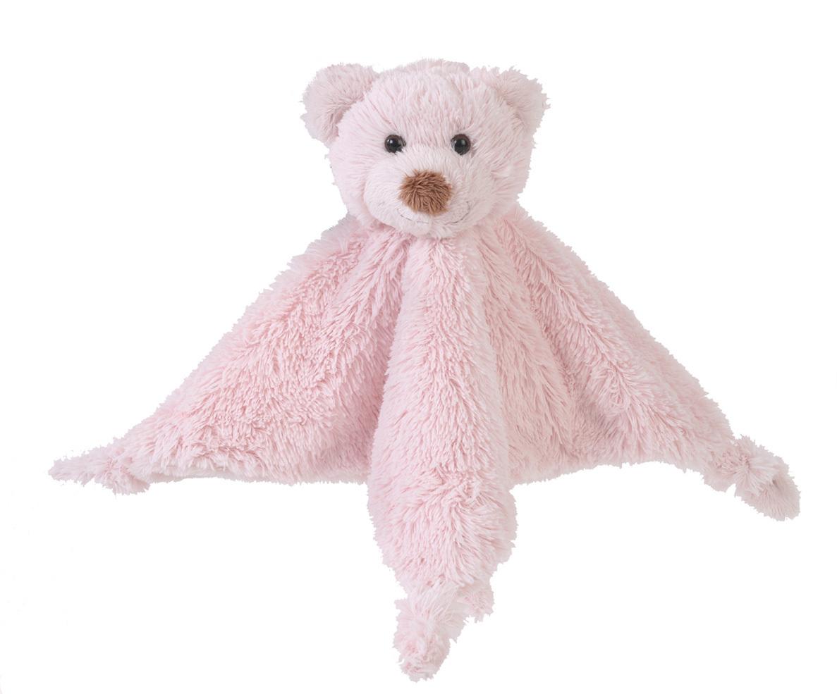 Happy Horse | méďa Boogy přítulka s chrastítkem růžová Velikost: 25 cm