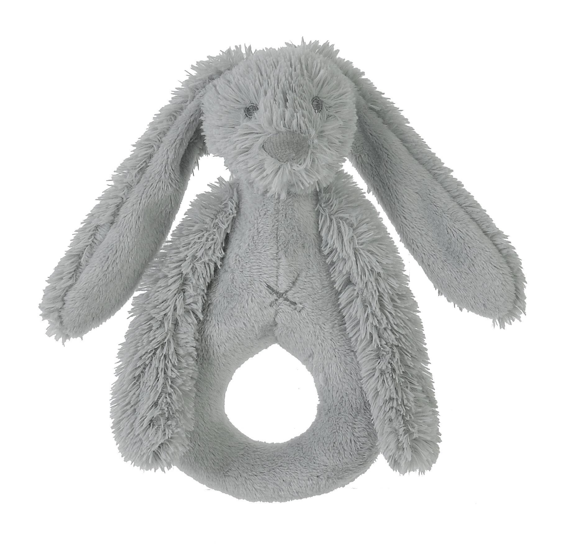 Happy Horse | Chrastítko králíček Richie světle šedé  Velikost: 18 cm