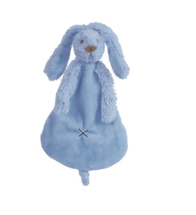 Happy Horse - Přítulka králíček Richie sytě modrá  Velikost: 25 cm