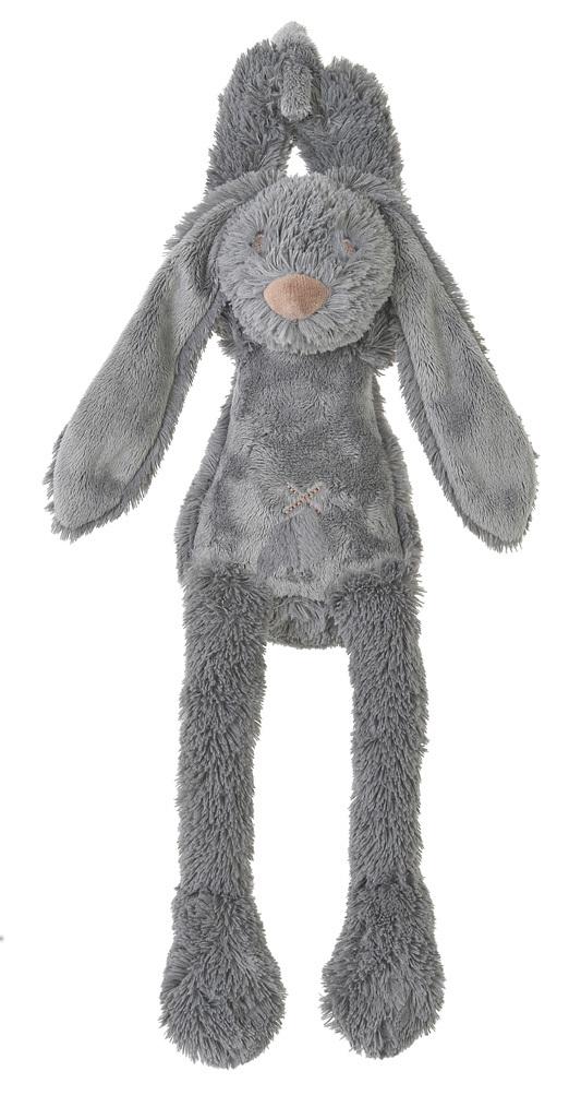 Happy Horse - hudební králíček Richie šedý Velikost: 34 cm