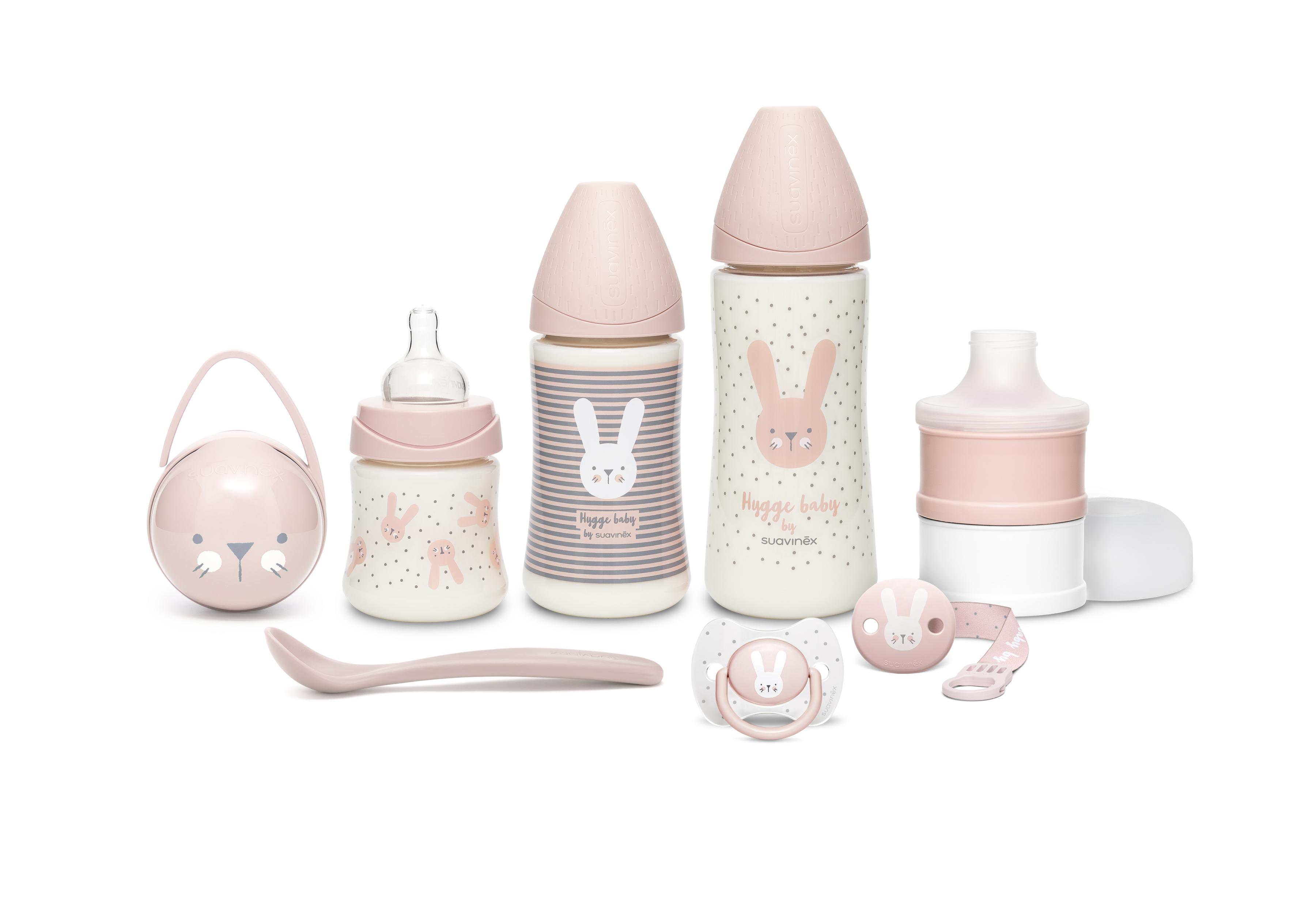 SUAVINEX | Premium novorozenecký set HYGGE - růžová