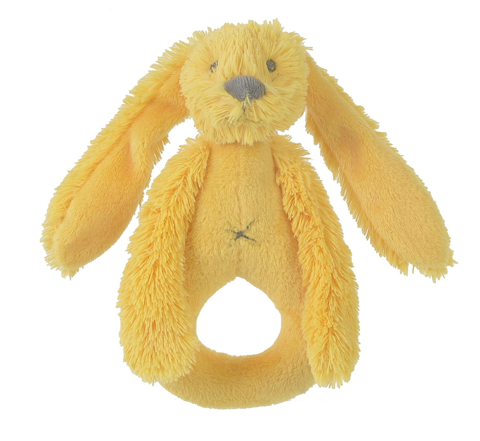 Happy Horse | Chrastítko králíček Richie žluté Velikost: 18 cm