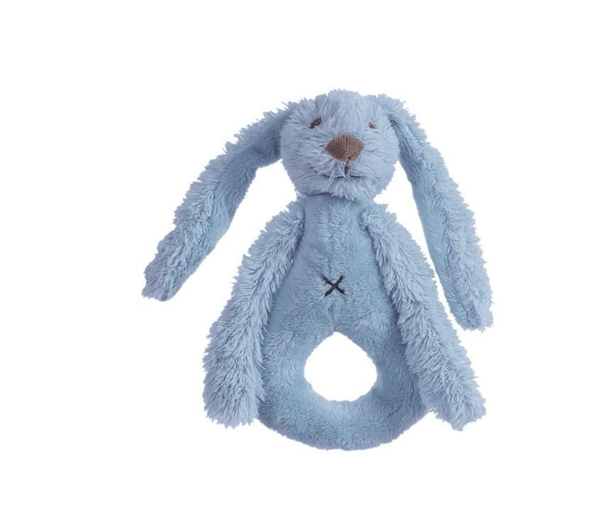 Happy Horse - Chrastítko králíček Richie sytě modré  Velikost: 18 cm