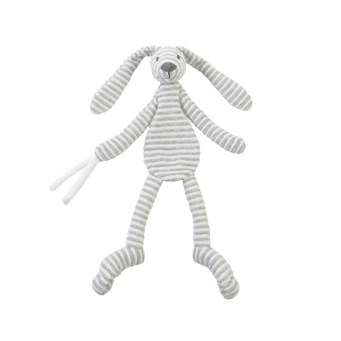 Happy Horse | Přítulka králíček Reece šedý  Velikost: 30 cm