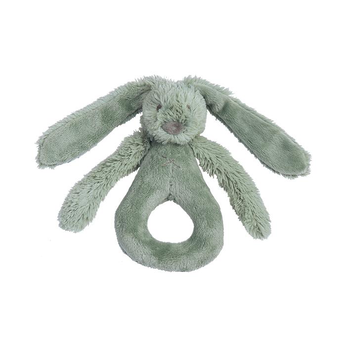 Happy Horse   Chrastítko králíček Richie zelené  Velikost: 18 cm