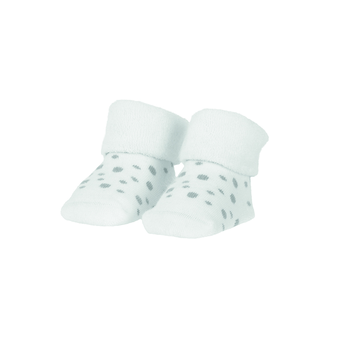BAMBAM   Ponožky organické sada bílá/puntíky