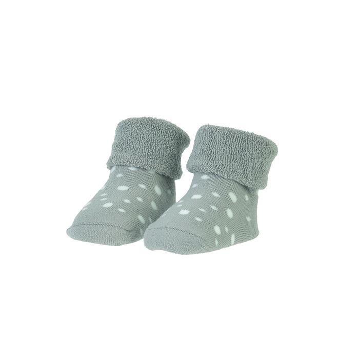 BAMBAM   Ponožky organické sada šedá/puntíky