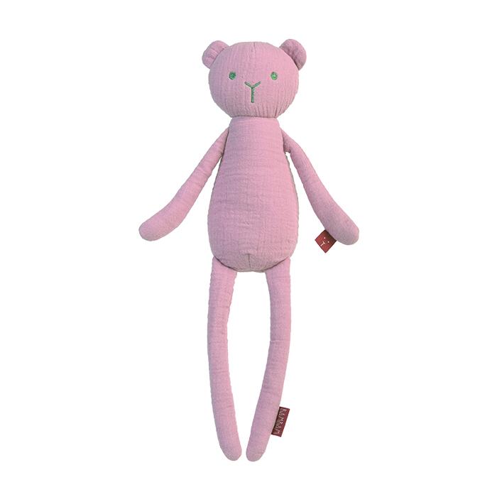 BAMBAM Medvídek organický - růžový