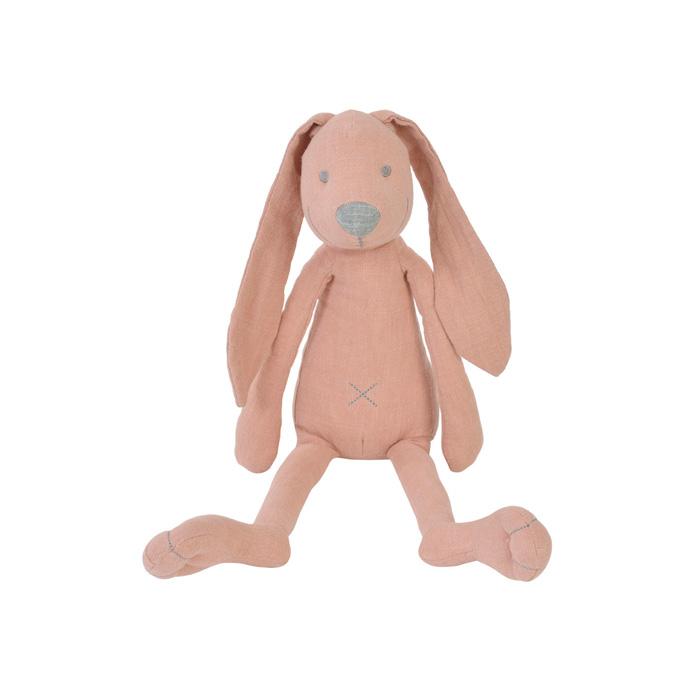Happy Horse - Králíček Richie Linen růžový  Velikost: 38 cm