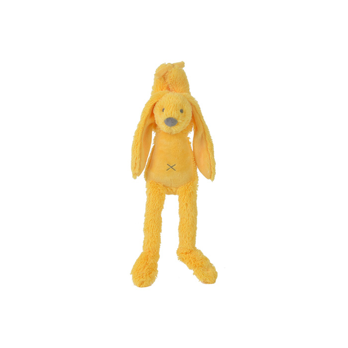 Happy Horse - hudební králíček Richie žlutý  Velikost: 34 cm